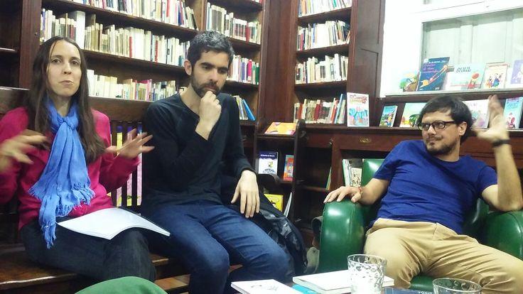 #PrimaveradeLecturas Martes 25/10: Nuevos narradores Con: Mariano Quirós, Matías Aldaz y Anahí Flores