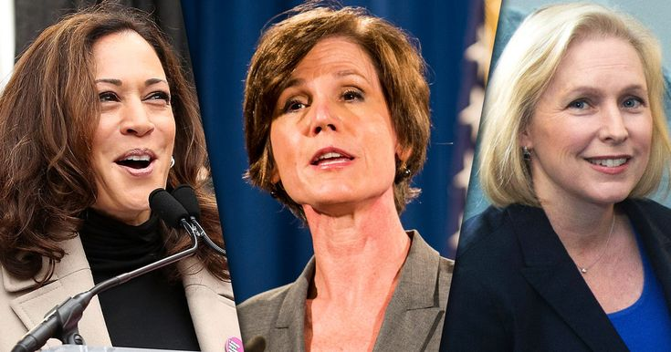 Trump's Nightmare: Women Opposing Him  From Kamala Harris to Sally Yates, they're on the front lines of the fight.