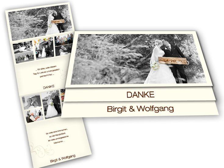 26 besten Danksagungskarten und Dankeskarten nach der Hochzeit