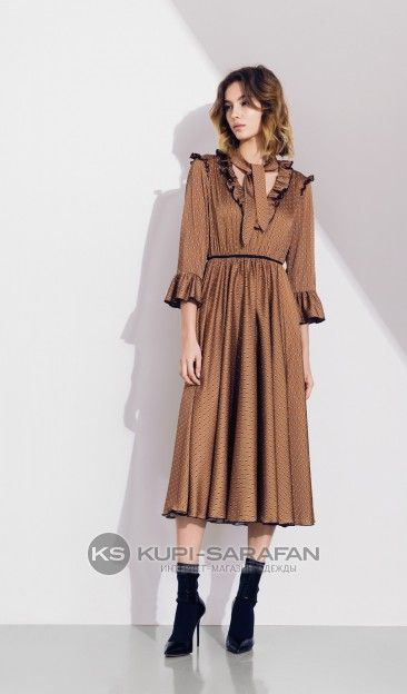 c30ba2a7b9c0ca7 Favorini 11681 серый - вечерние платья - купить в Санкт-Петербурге на Купи  Сарафан