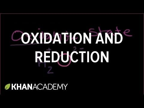 Oxidation and reduction | Redox reactions and electrochemistry | Chemistry | Khan Academy - YouTube