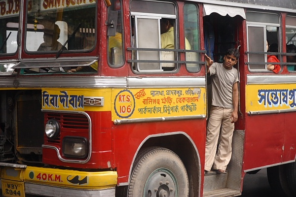 Ordinary Bus of Kolkata India