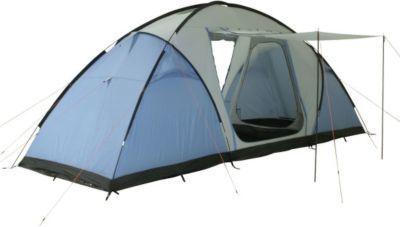 10T Camping-Zelt Weston 6 Vis-A-Vis Tunnelzelt mit Schlafkabinen für 6 Personen Outdoor Familienzelt mit Wohnraum, Sonnendach Aufstellstangen, wasserdicht mit 5000mm Wassersäule Jetzt bestellen unter: https://moebel.ladendirekt.de/kinderzimmer/betten/baldachine/?uid=436bdbb0-7270-56c1-ace0-606708d7d3d1&utm_source=pinterest&utm_medium=pin&utm_campaign=boards #ern #baldachine #kinderzimmer #betten Bild Quelle: gartenxxl.de