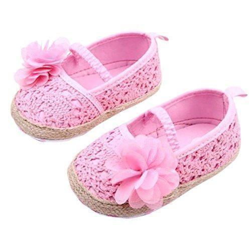 Oferta: 4.99€ Dto: -61%. Comprar Ofertas de Anna-Kaci Zapatos para encantador niño de la flor de los bebés de cuna suave de los zapatos 0-18 Meses barato. ¡Mira las ofertas!