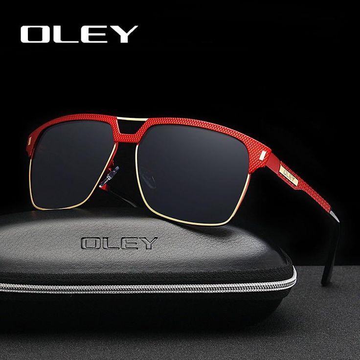 Oley Brand Unisex Classic Men Sunglasses Hd Polarized