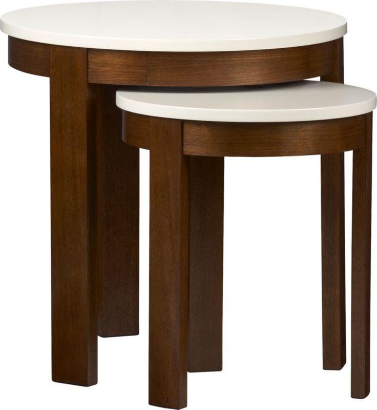 16 best small nesting tables images on pinterest coffee for Small nest of tables