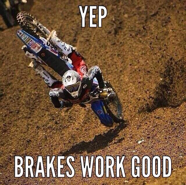 Brakes are working!
