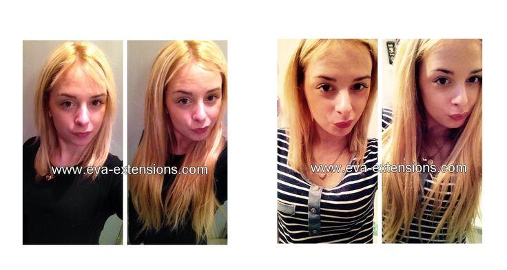 Extensions clips 220Gr blond beige cendré. Kit d'extensions à clips de luxe usa XXL en cheveux naturels.