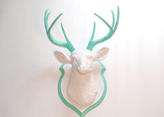 deer head plaque - Google Search