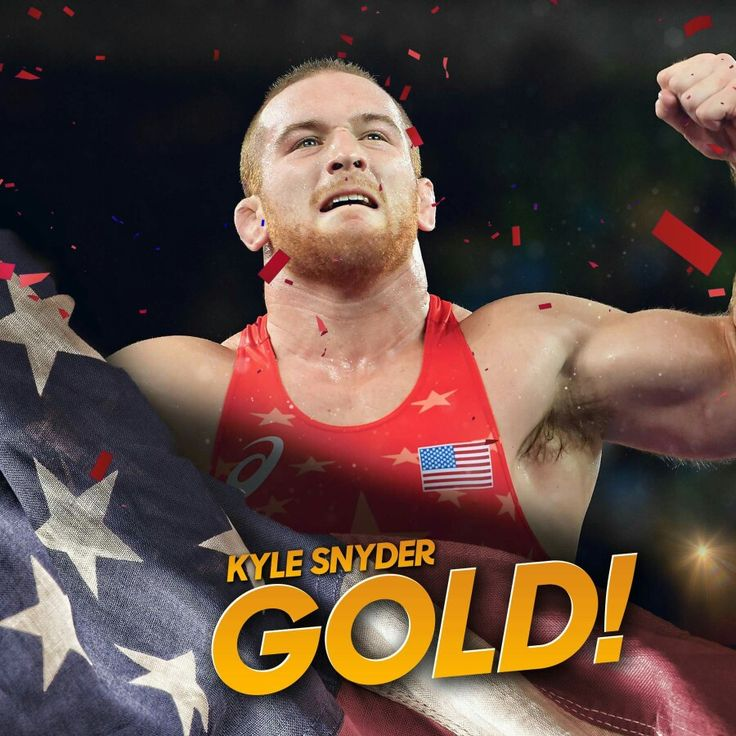 USA Wrestling's Kyle Snyder takes home gold!   He is the youngest wrestling medal winner in Team USA Olympic history.