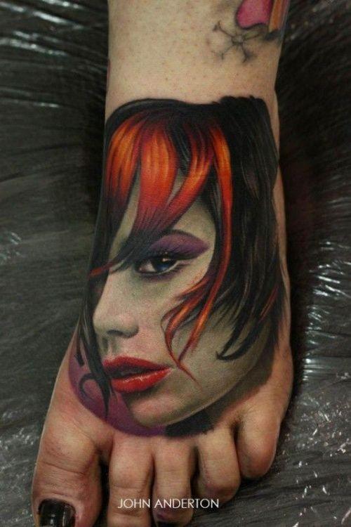 Tattoos on the Foot - Tattooed Souls