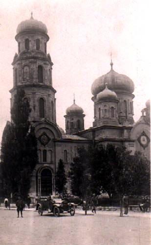 Cerkiew na Placu Litewskim; Data budowy: 1870-18.10.1876 r.     Data wyburzenia: 1924-1925 r.