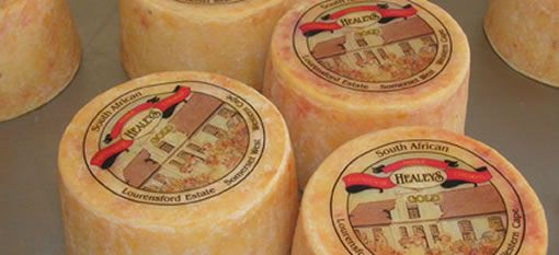 Waterkloof says cheese to Healey`s Farmhouse Cheddar