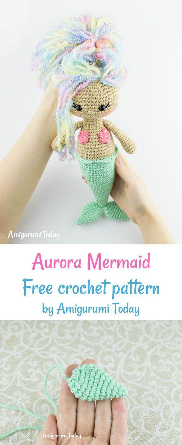 free crochet amigurumi mermaid pattern Archives ⋆ Crochet Kingdom ... | 1464x600