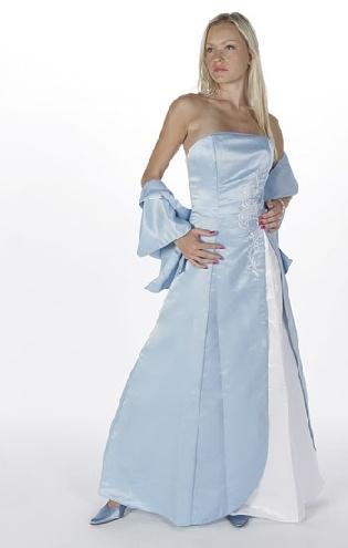 Ice blue wedding gown winter wonderwedding pinterest for Ice blue wedding dress