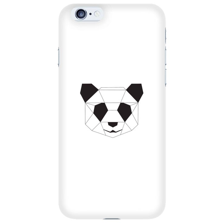 Geometric Panda iPhone 6/S Case by Urban Trends Apparel.