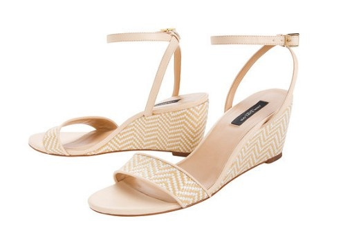 Beach Wedding Shoes Low Wedge Sandals Perfect For The Sand