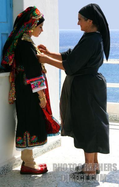 Karpathos costume - Kavai