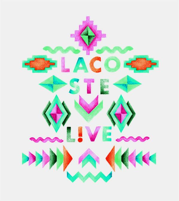 Tshirt designs for LACOSTE L!VE - Leslie David