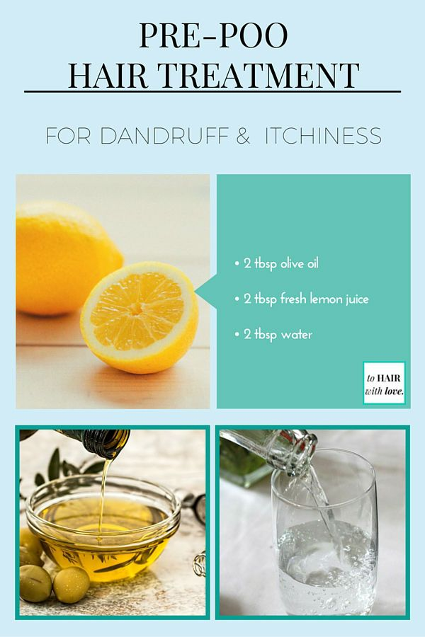 How To Get Rid Of Dandruff & Itchiness With Lemon On Hair ...