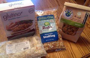 Taste Test: Gluten Free Stuffing Mixes (for Thanksgiving)