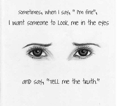 """This is especially true when I am in the middle of a flare. I will always say """"I'm fine"""" because I don't want anyone's pity. Also, I don't want anyone to think I am incapable. However, I do want someone to UNDERSTAND and EMPATHIZE."""