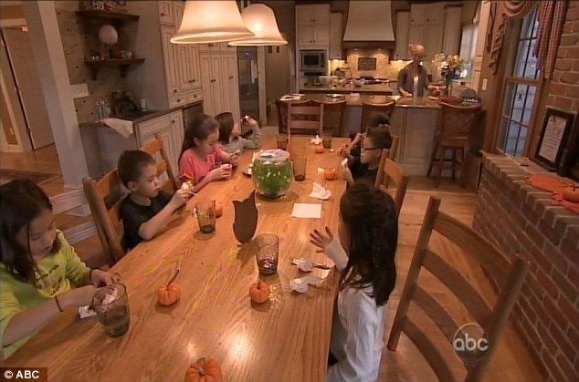 Are you being served? The eight Gosselin children knew exactly what to do with their regulated chores