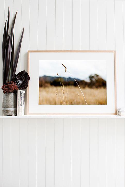 'Grasses' Photographic Print © Kara Rosenlund