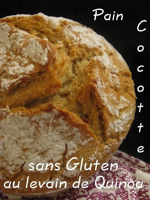 Pain sans gluten au Levain de Quinoa: