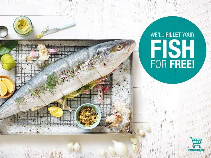 Checkers, offer for free fish filleting #Easter