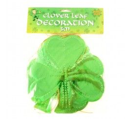 Glossy Clover Leaf Decoration (3 Metres)
