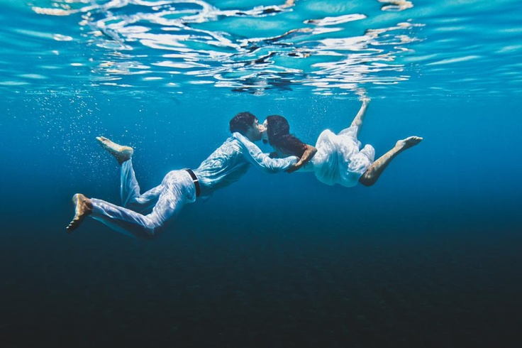 Awesome underwater shot! Photo by Jason + Anna Photography