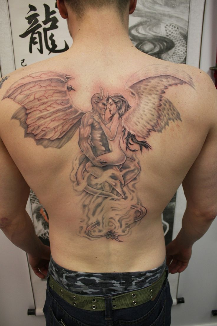 70 best joes ink images on pinterest tattoo ideas for Back mural tattoos