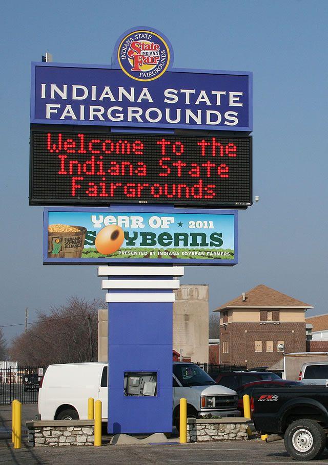 Indiana State Fairgrounds, Indianapolis, Indiana.