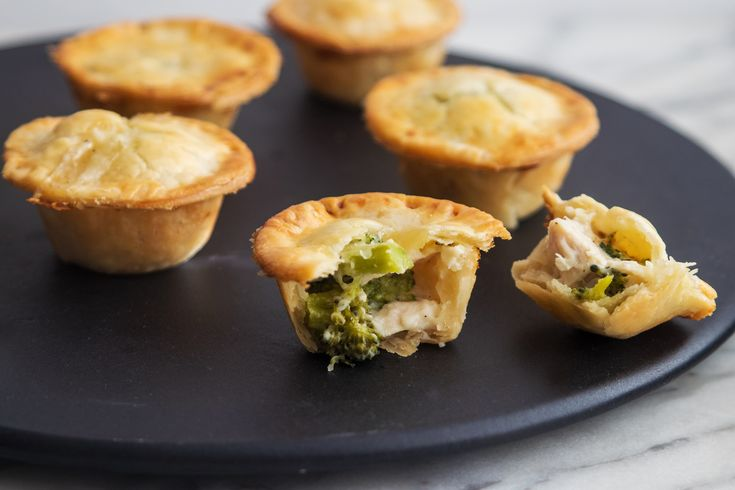 Mini Chicken and Broccoli Pot Pies  - Giadzy