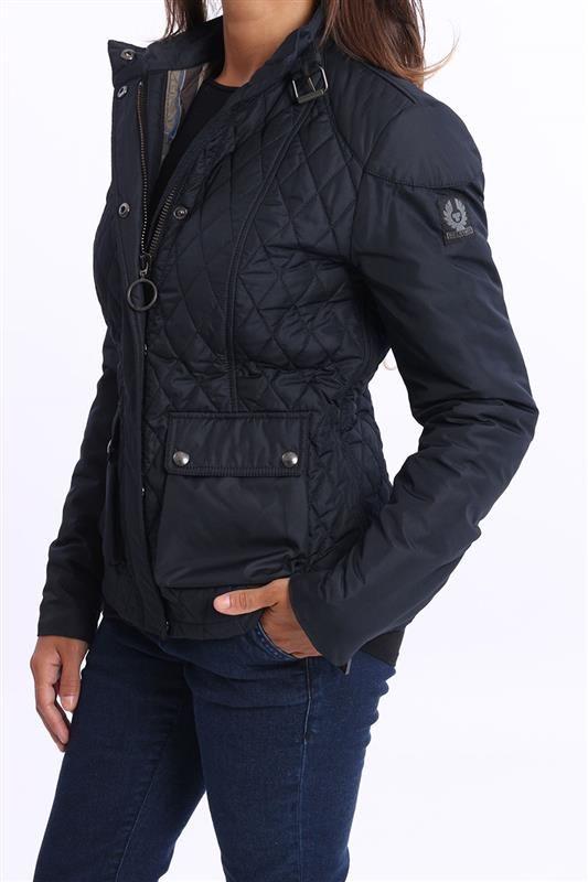 giacca donna Belstaff, giubbotto blu, giacca trapunta - Capispalla - Abbigliamento - Donna - White7 - Abbigliamento e Accessori Uomo / Donna online