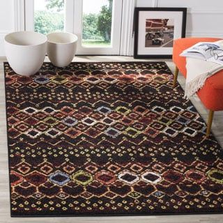 Shop for Safavieh Amsterdam Bohemian Black / Multicolored Rug (9' x 12'). Get free shipping at Overstock.com - Your Online Home Decor Outlet Store! Get 5% in rewards with Club O! - 19440983