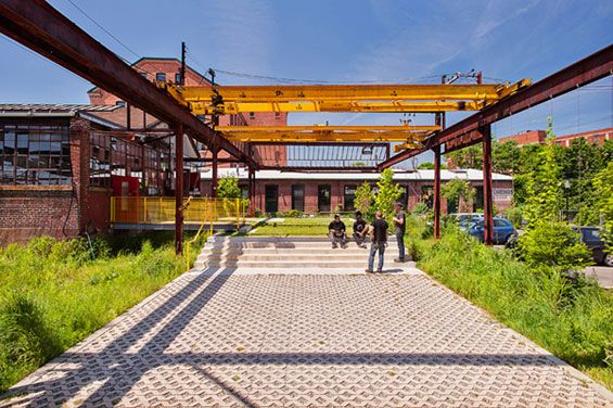 The Steel Yard | Providence USA | Klopfer Martin Design Group « World Landscape Architecture – landscape architecture webzine