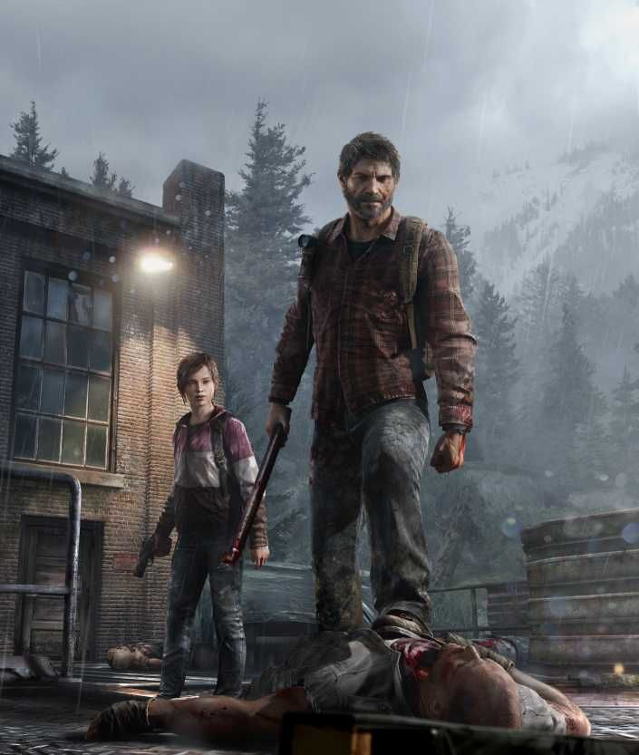 Last Of Us This Game Has One Of The Best Graphics I Have Ever Seen Look At The Back Ground