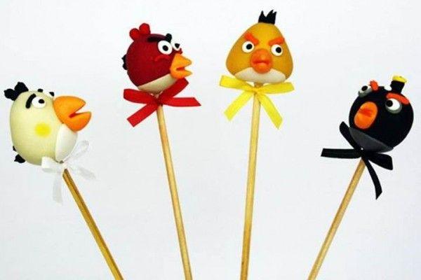 decoracao doces Angry Birds