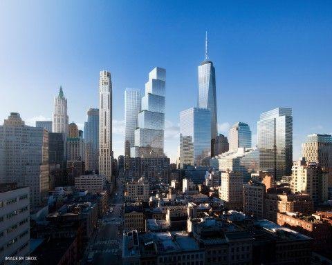 Mi piace questo progetto, mi sembra stia bene con il resto dei palazzi e trovo suggestiva l'idea delle scale che salgono verso il cielo, un pò a salutare chi non c'è più <3 ********************************* Bjarke Ingels spodesta Sir Norman Foster dal World Trade Center. Ecco le prime immagini della nuova Torre 2 dell'architetto danese