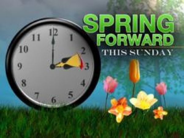 2nd Sunday Of March---DAYLIGHT SAVINGS TIME---Spring Forward  (loose an hour)