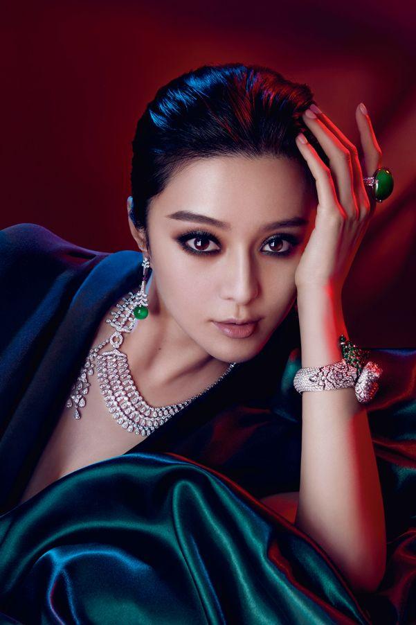 范冰冰演绎Cartier高级珠宝