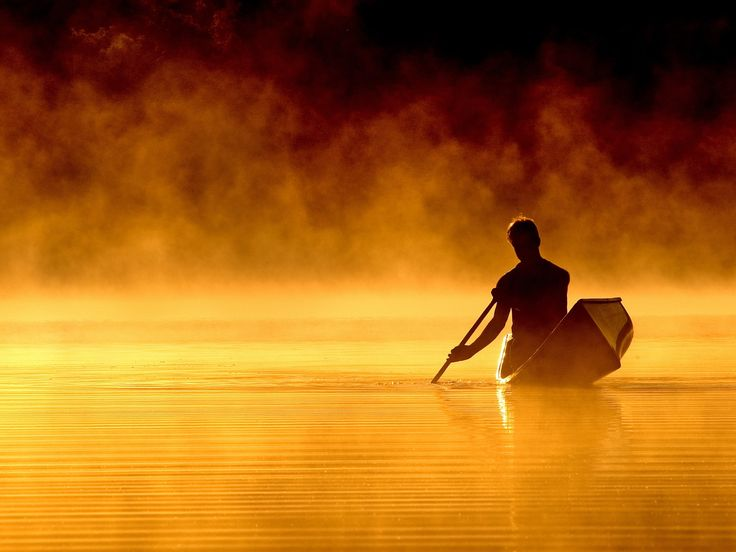"500px / Photo ""Fire Canoe"" by Peter Bowers"