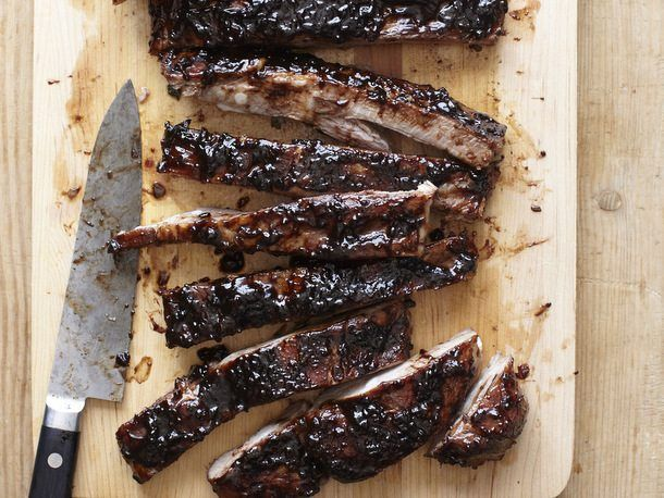Sweet-and-Sour Balsamic-Glazed #Spareribs from Vinny Dotolo and Jon Shook of Animal. #recipe