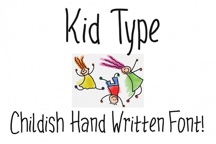 Kid Type Just $4.00 for a short time. #ad.