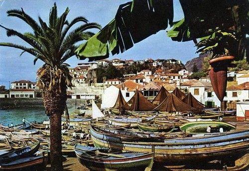 Barcos de pesca tradicional Ilha da Madeira