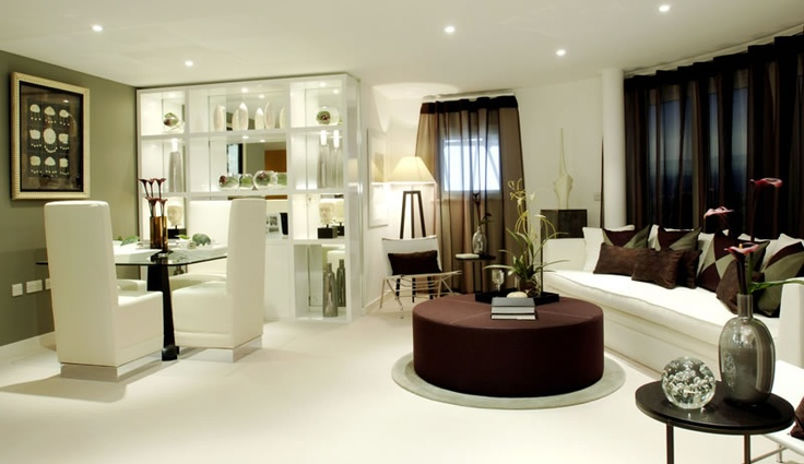 Penthouse living room. #interior #design #aji #home  - By Alexander James Interiors
