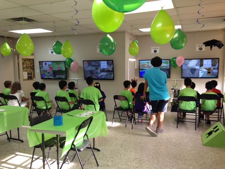 15 bsta bilderna om Minecraft Birthday parties in Richmond Hill p