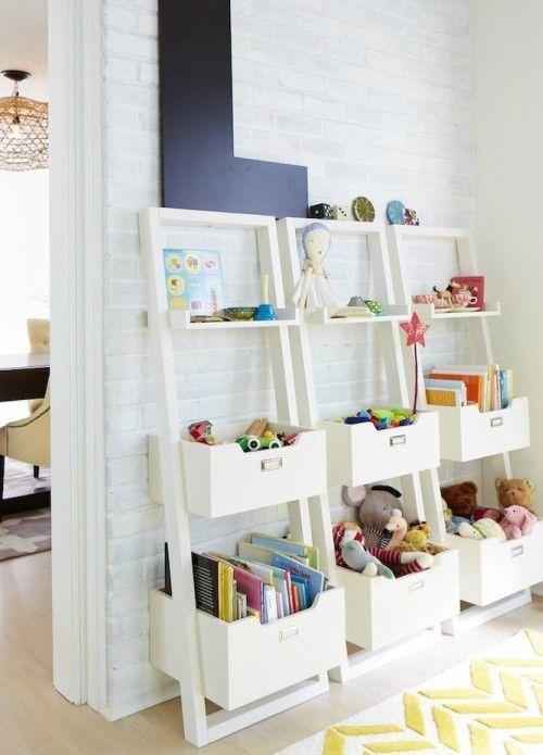 Speelgoed Opbergen In De Woonkamer: 18 Originele Ideeën ...